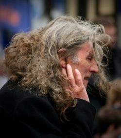 grey hair man