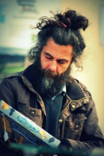 hair man with chess