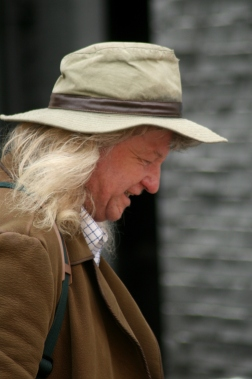 hat passer by
