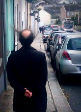 man with hair
