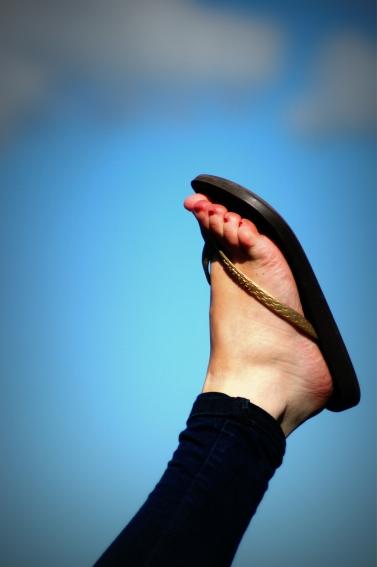 flipflop foot