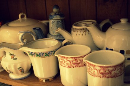 pots and jugs