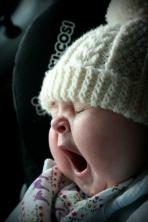 c yawning