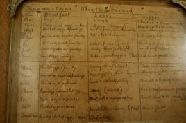 menus 1949