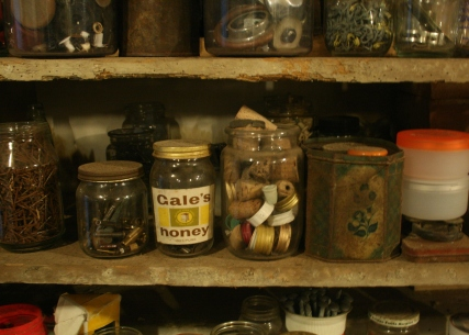 workshop shelves