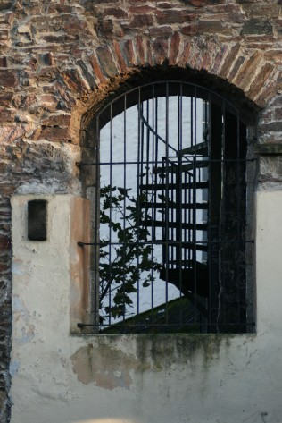 Druid's Hall window