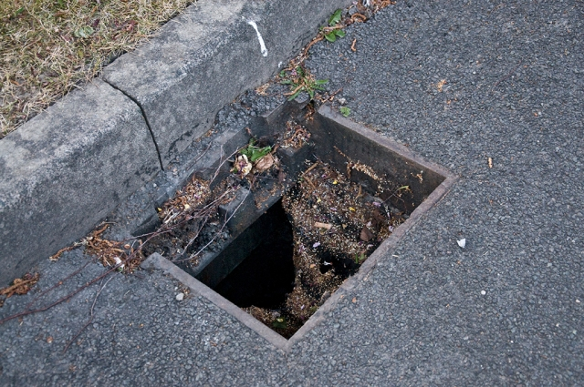 missing drain-cover