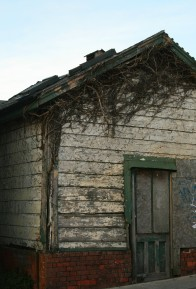 shack by the station