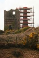 mine building scaffolding 2