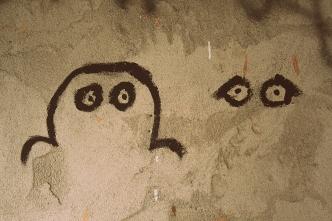 eyes grafitti