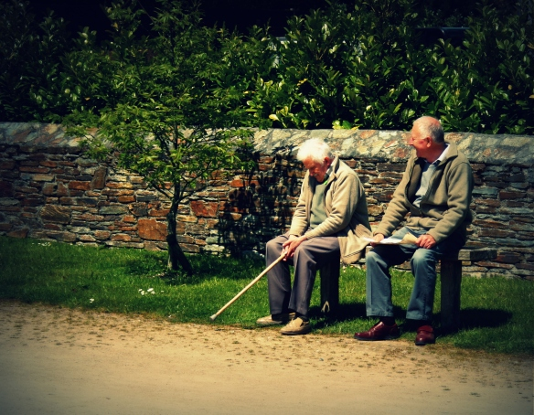 old men at heligan