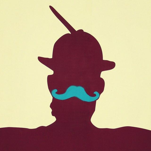 miner and moustache